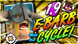FASTEST ELITE BARBARIAN DECK EVER!! 1.9 CYCLE!! THIS IS INSANE!! 😱