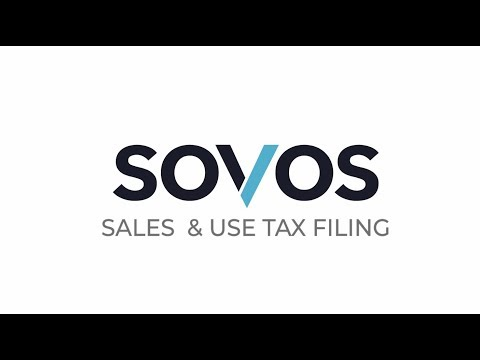 Sovos Sales and Use Tax Filing - Sales Tax Filing Solution