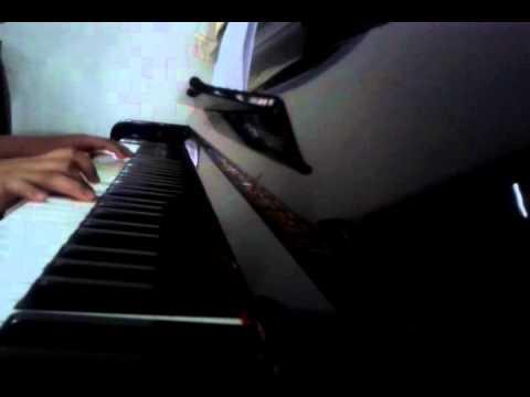 rindukanlah piano cover