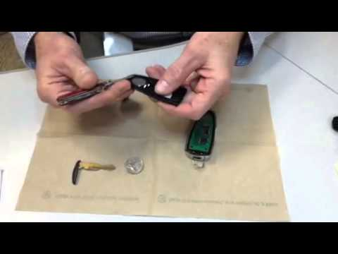 Ford Key Fob - Intelligent Access key, Battery Replacement ...