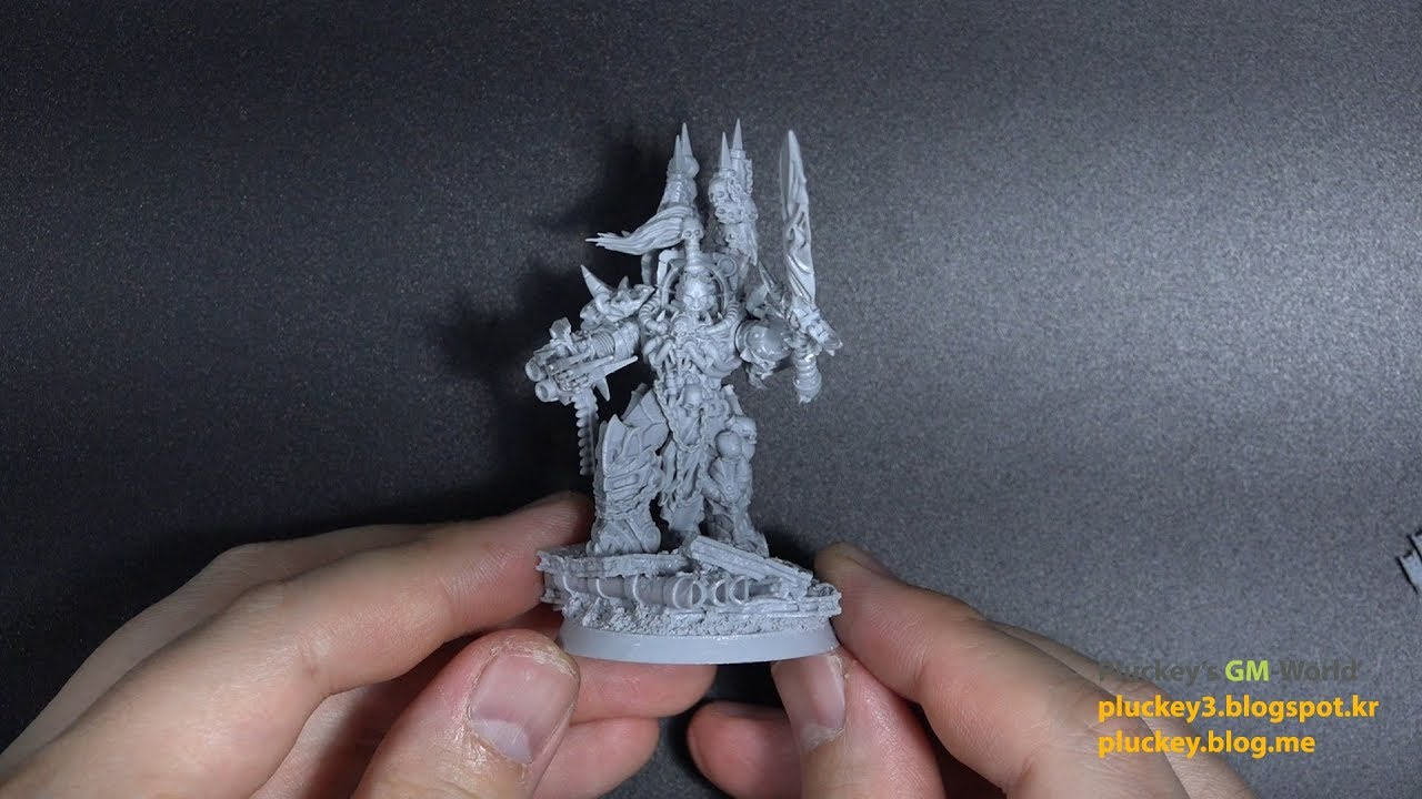 Warhammer 40000 워해머 Wargame Exclusive Chaos Master of Crusade (WH40K)  Unboxing & Review
