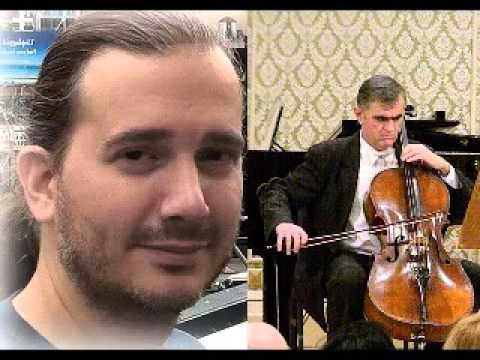 ROBERT VOISEY: Music for cello played by Serban Nichifor