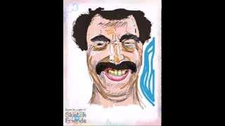 How to draw Borat (Sacha Baron Cohen)! Speed drawing of Borat by a Sketch W Friends user.