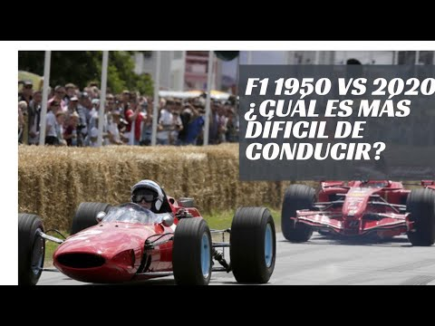 2020 vs 1950: ¿qué F1 es más difícil de conducir?