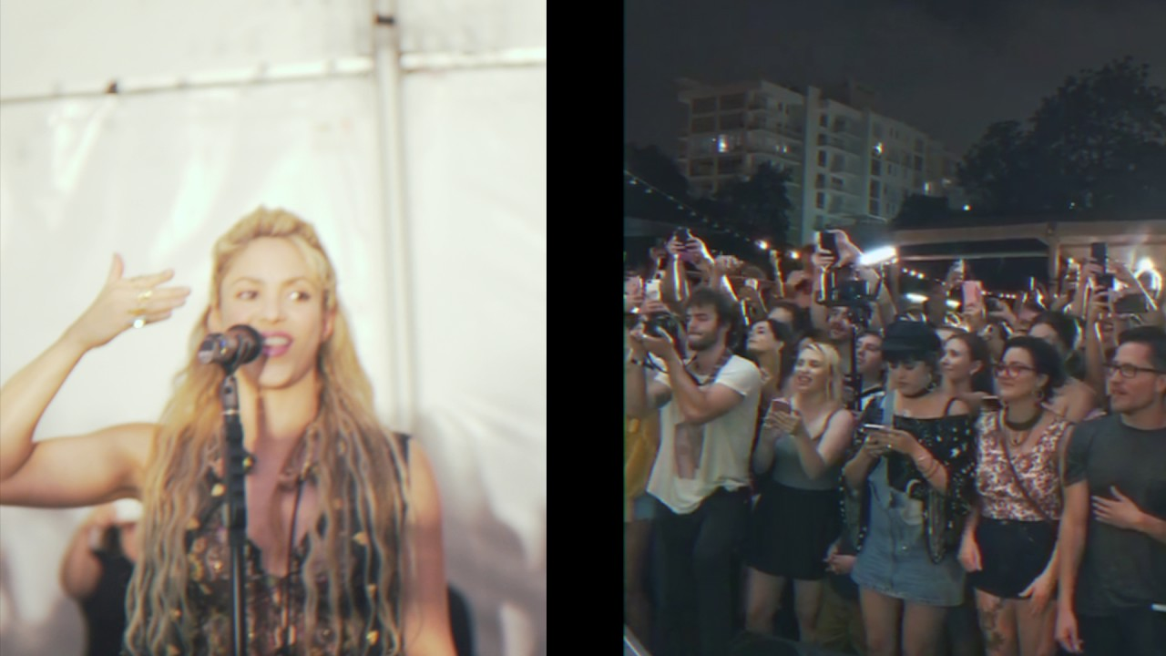 Shakira - Miami (live from Miami) Surprise Show in Miami