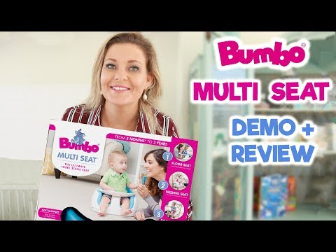 BUMBO Multi Seat - Unboxing, Demo & Review