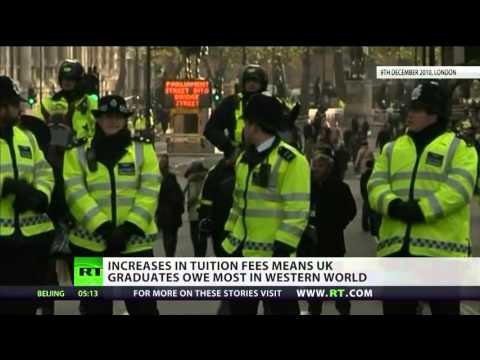 Students in UK laden with highest debt in west