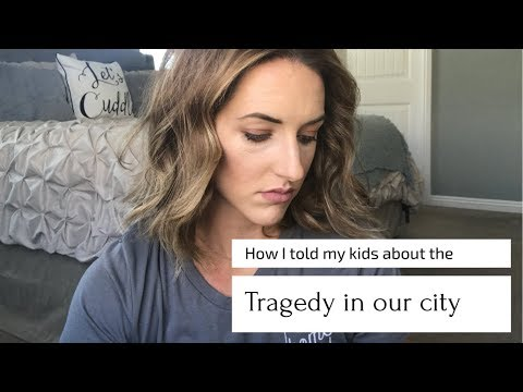 HOW I TOLD MY KIDS ABOUT 1 OCTOBER|LAS VEGAS TRAGEDY IN OUR HOMETOWN