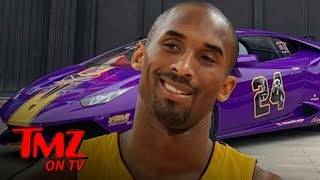 Kobe Bryant Insane Tribute Lambo Up For Sale | TMZ TV