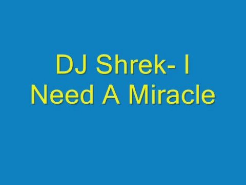 DJ Shrek- I Need A Miracle