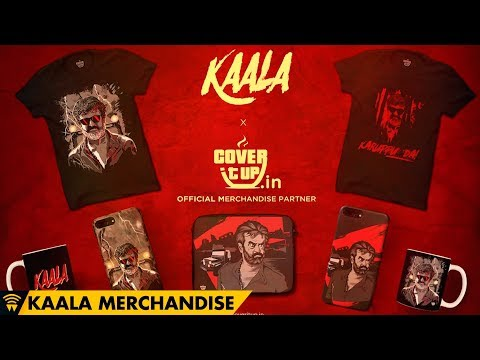 Making of Kaala Merchandise | Cover It Up | Wunderbar Films | Rajinikanth | Dhanush | Pa Ranjith