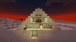 Как построить ЕГИПЕТСКУЮ ПИРАМИДУ С МУМИЕЙ в МАЙНКРАФТ