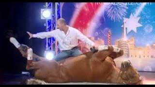 les gens avec des animaux pour montrer l'Australie a du talent »et surprend tout le monde
