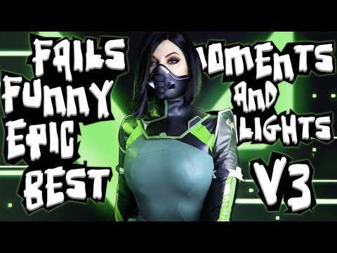 Valorant BEST MOMENTS and FUNNY FAILS | Highlights V3