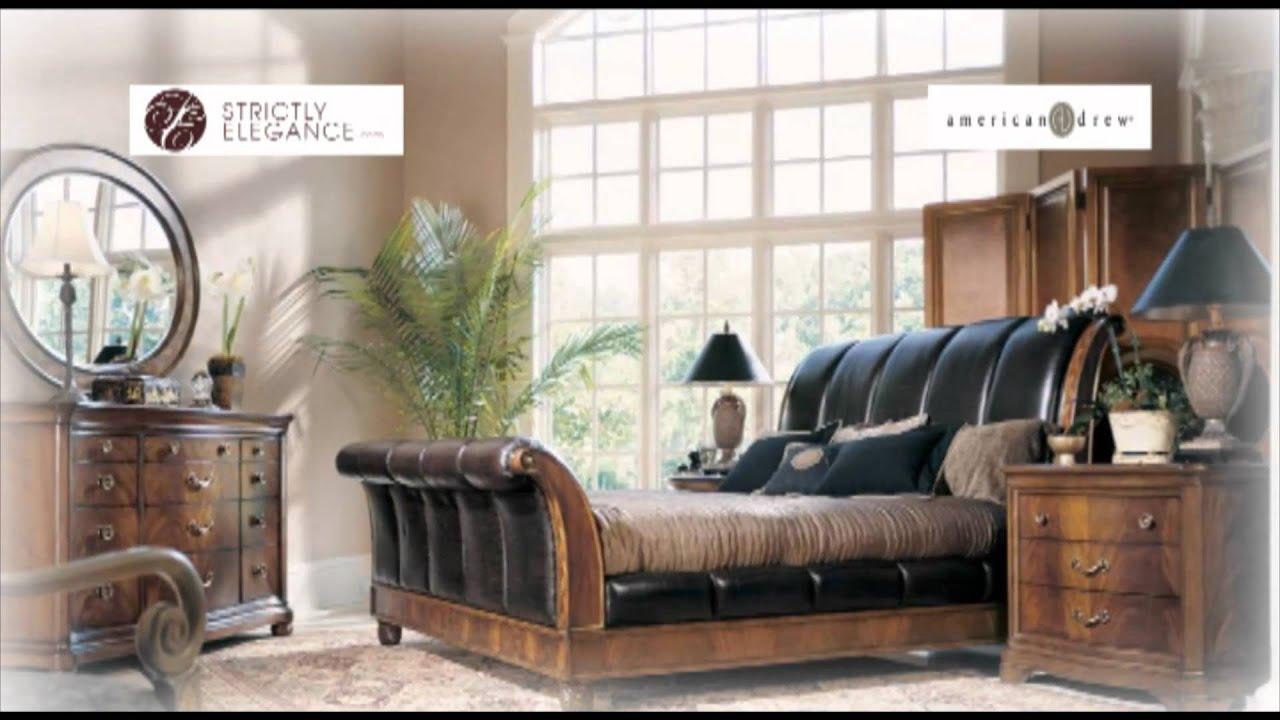 American drew bob mackie home classics bedroom youtube for American drew bob mackie bedroom furniture
