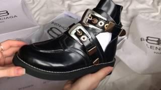видео Обувь Balenciaga. Купить женскую обувь Баленсиага в Москве