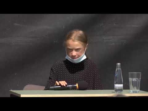 LIVE: Greta Thunberg speaks after meeting Angela Merkel to discuss climate crisis