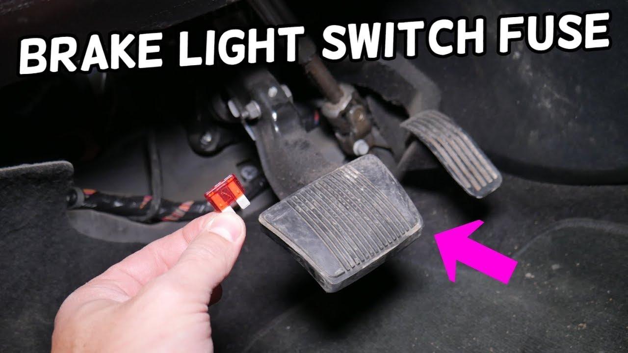 Dodge Dart Stop Light Brake Light Switch Fuse Location Replacement