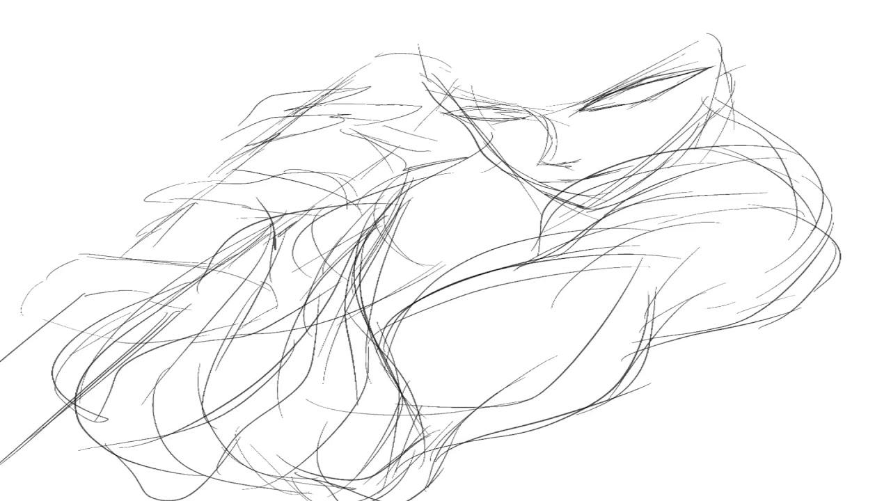 Drawing anime on iPad Pro رسم انمي باستخدام اي باد برو ...