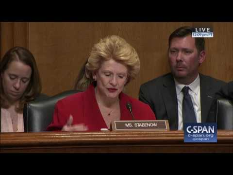 Senator Stabenow Questions Robert Lighthizer on Trade
