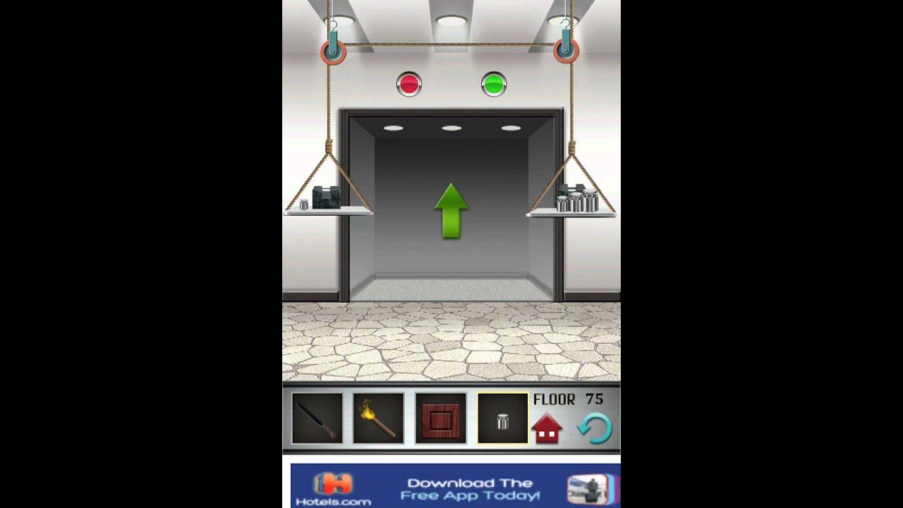 Floor 75 100 Floors Game Walkthrough Level Solution