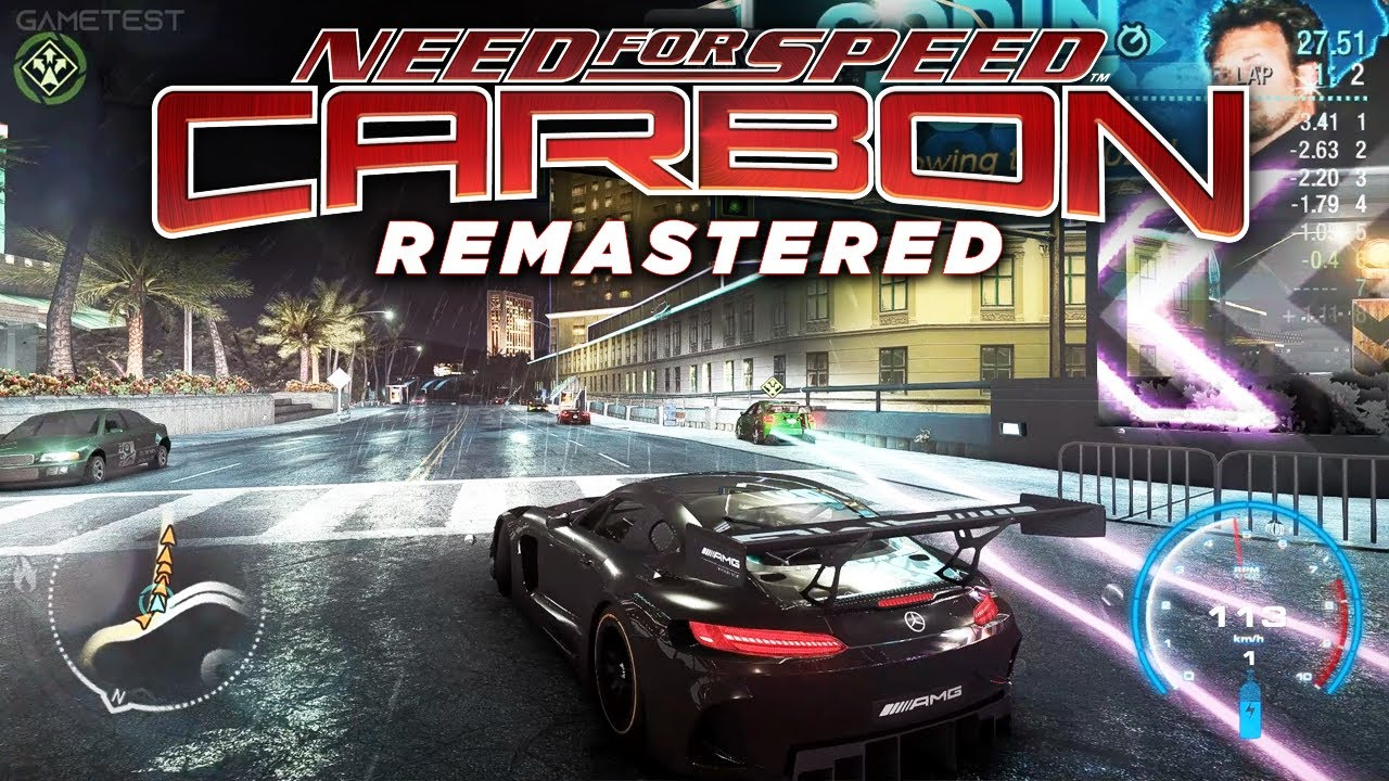 Need for Speed Carbon Remastered 2021