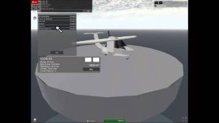 Water landing and Menu Video-wings world V roblox