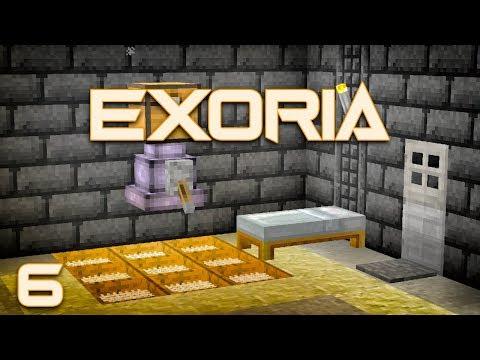 Exoria EP6 Buildcraft Pump + Ex Nihilo Sieve