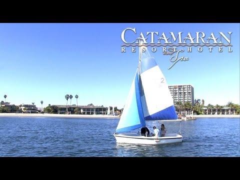 san diego activities sailing on mission bay catamaran resort