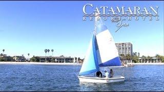 San Diego Activities - Sailing on Mission Bay - Catamaran Resort