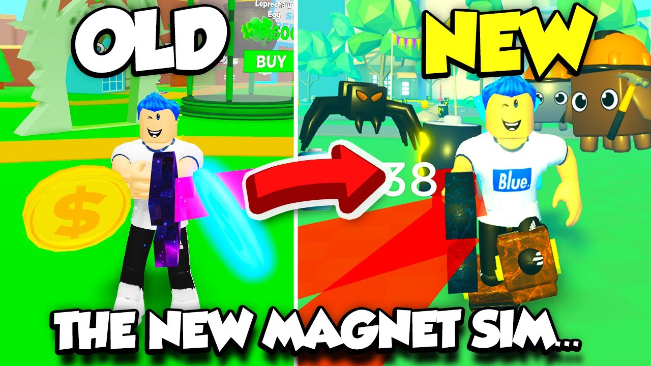 Youtube Roblox Magnet Simulator This Game Is The New Magnet Simulator But Even Better Roblox Youtube