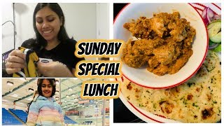 Sunday Special Lunch Routine Chicken Changezi recipe & Birthday shopping- Indian Mom Weekend routine