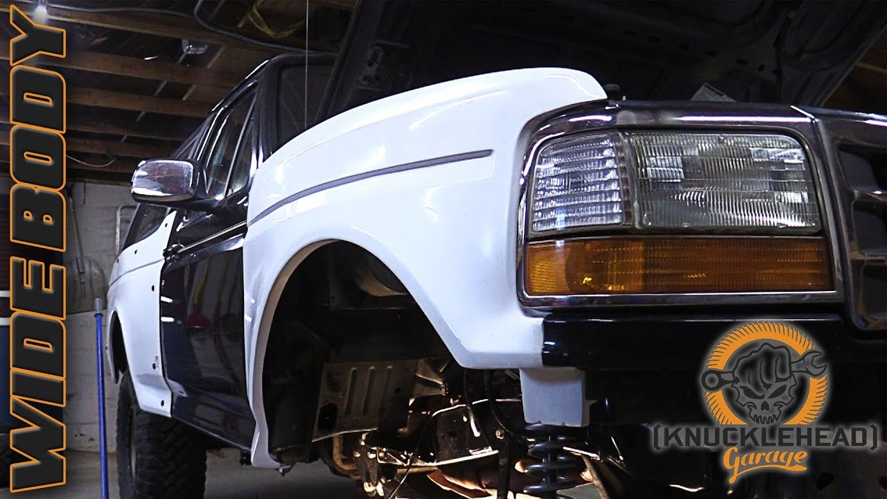 Busted Knuckle Bronco Prerunner Build Part 2 - Knucklehead Garage