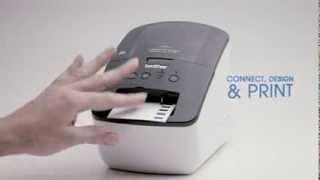 brother ql 710w wireless label printer