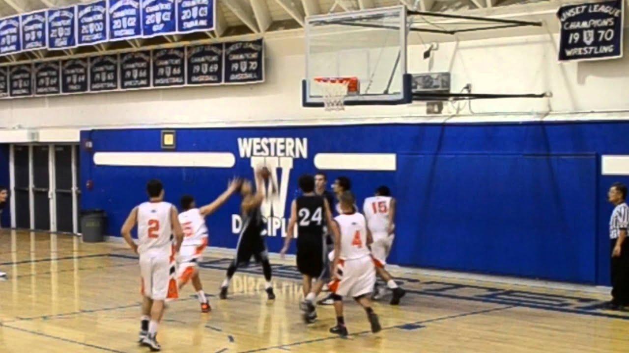 2014 Senior Brian Alvarez 11 Pacifica High School Basketball Youtube