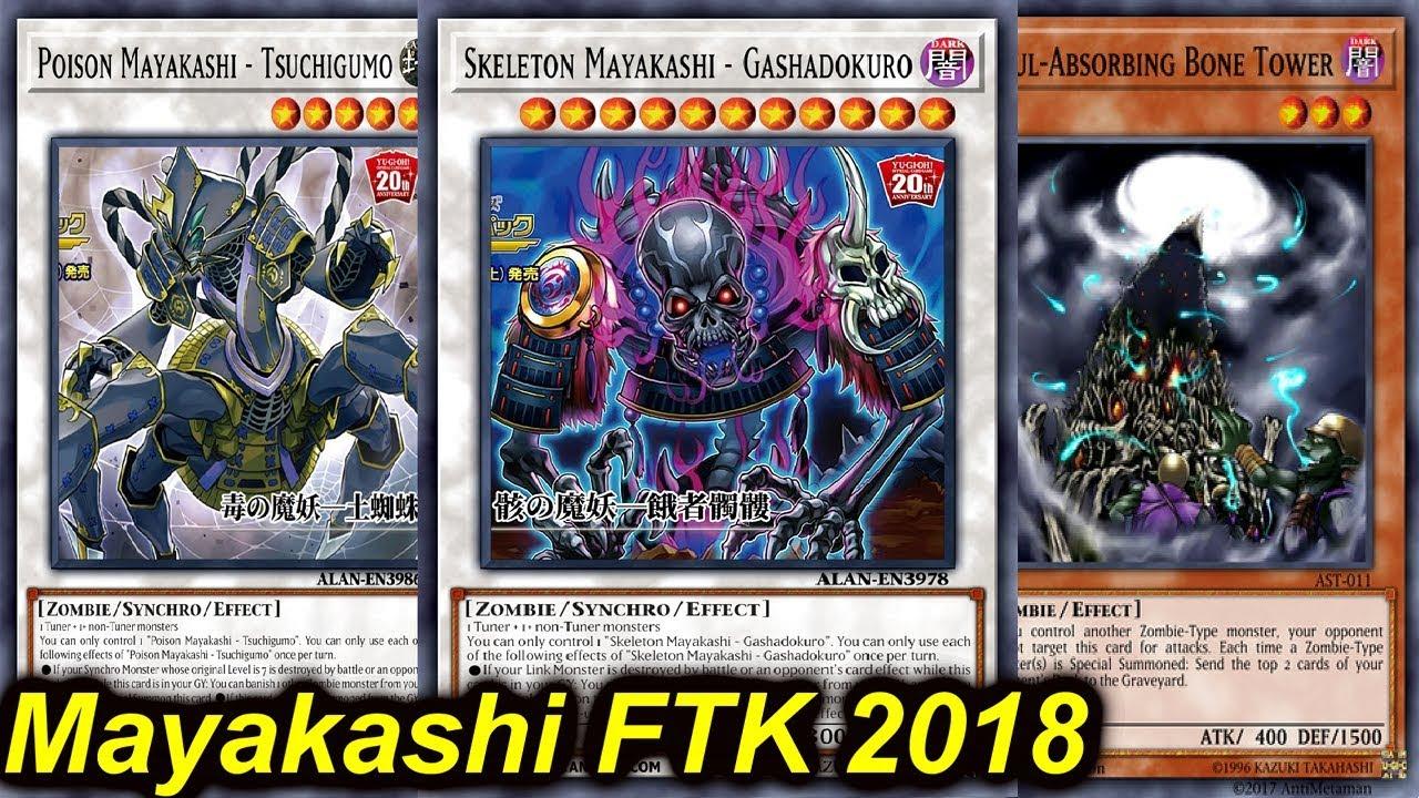 【YGOPRO】MAYAKASHI FTK DECK 2018 - YouTube
