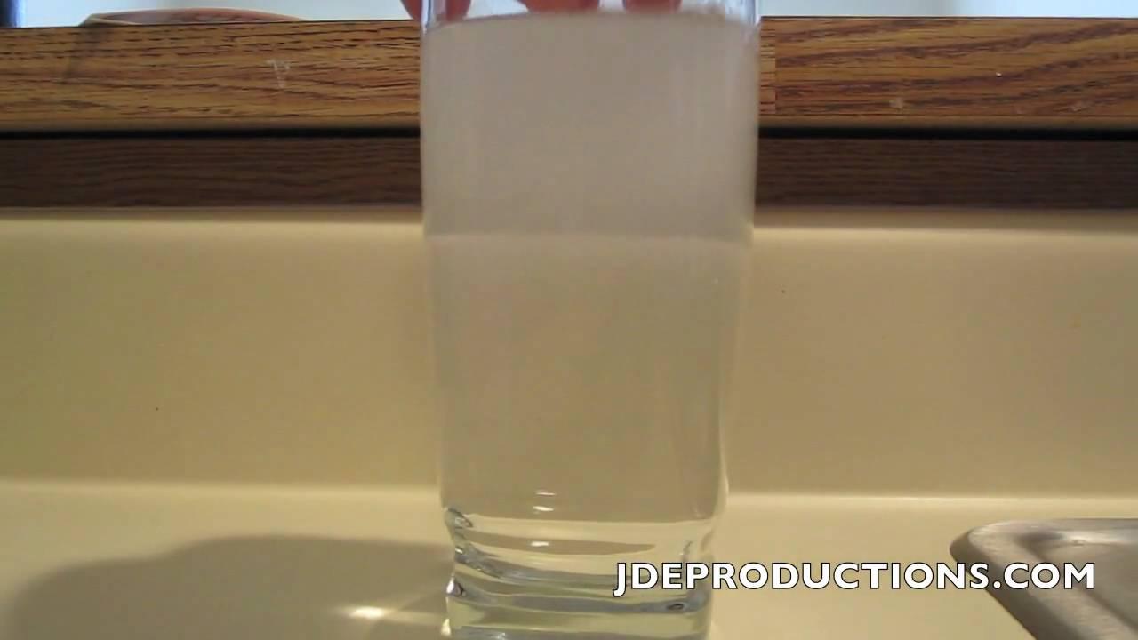 oak creek cloudy water experiment #1 - YouTube