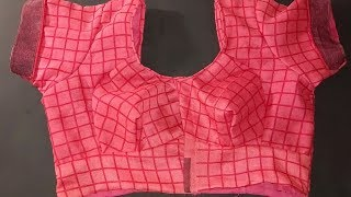 Making Beautiful Katori  Blouse with easy and simple way
