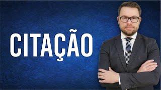 NOVO CPC - CITAÇÃO