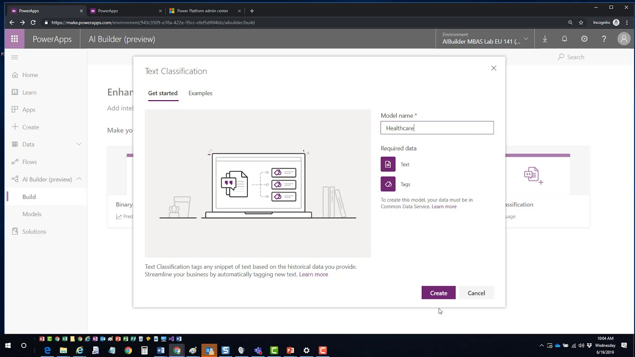 Working with PowerApps AI Builder (Part 2)