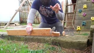 Busse Battle Saw vs 2x4