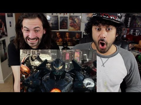 PACIFIC RIM: UPRISING TRAILER #1 (NYCC) – REACTION & REVIEW!!!