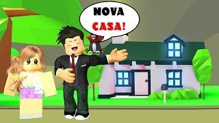 COMPREI UMA CASA DE 2 ANDARES NO ADOPT ME | Roblox - Adopt Me!