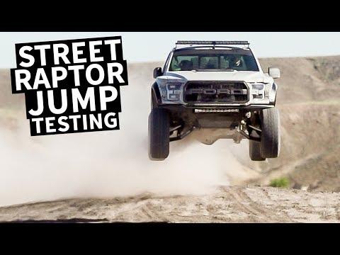 Ken Block's Ford Raptor Gets Dialed in for Jumps!