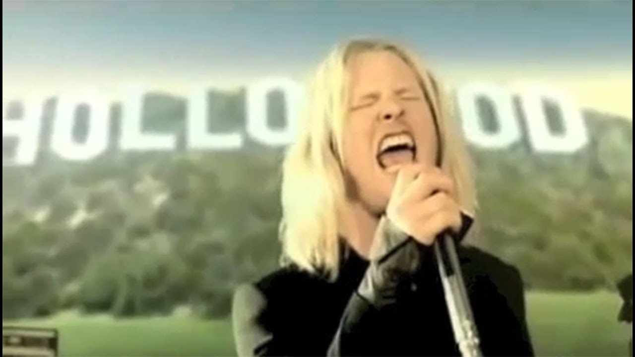 Corey taylor long blonde hair