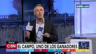 """C5N - Desafio 2016: Editorial Marcelo Zlotogwiazda """"Ganadores y perdedores de la economía"""""""