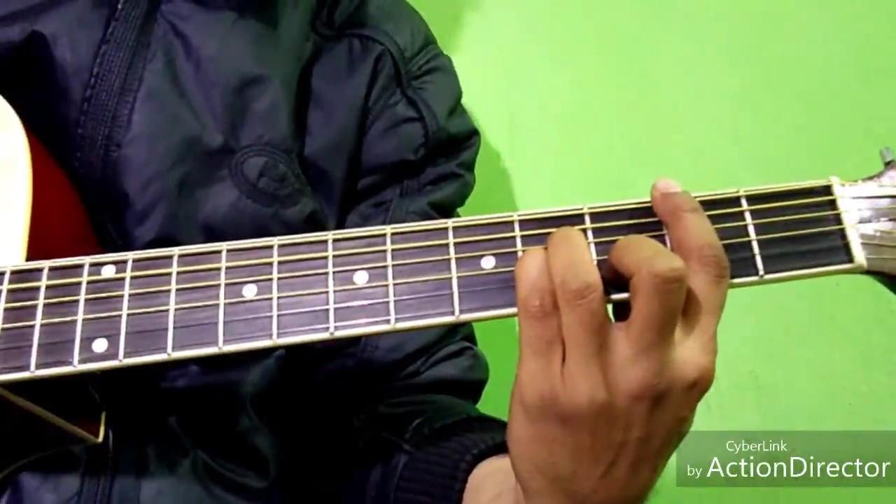 Bm Chord B Minor Easy Guitar Lesson In Hindi Rydmoz Youtube