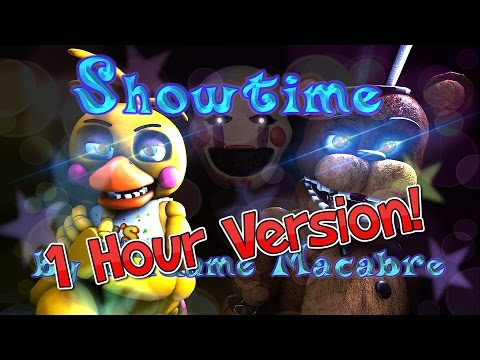 "SFM| Duet Of Justice |""Showtime"" FNAF 2 song by Madame Macabre (1 hour version!) - SFM