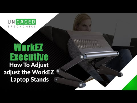 Adjusting WorkEZ, Adjustable Computer Stand