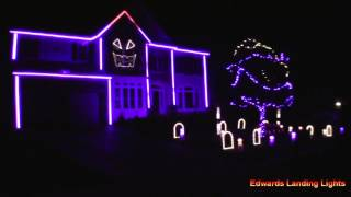 Halloween Light Show 2015 - House Party by Sam Hunt